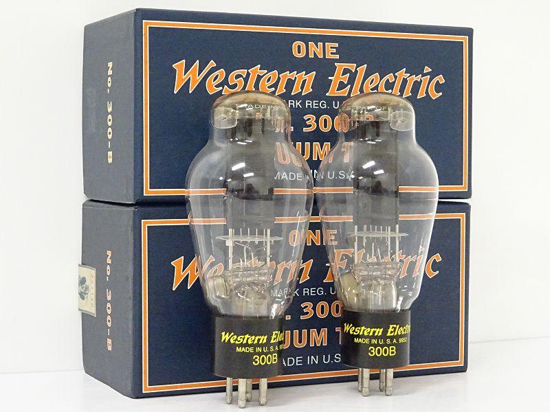 Western Electric エスタンエレクトリック 300B 真空管 2本 佐賀県鳥栖市にて買取させていただきました!!