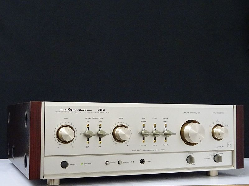 LUXMAN ラックスマン LX-360 真空管プリメインアンプ 岡山県岡山市にて買取させていただきました!!
