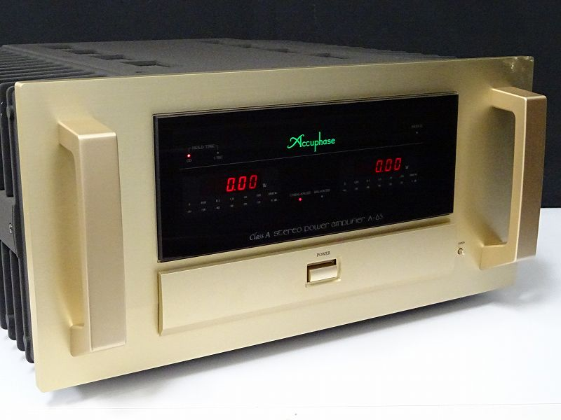 Accuphase アキュフェーズ A-65 純A級ステレオパワーアンプ 石川県七尾市にて買取させていただきました!!