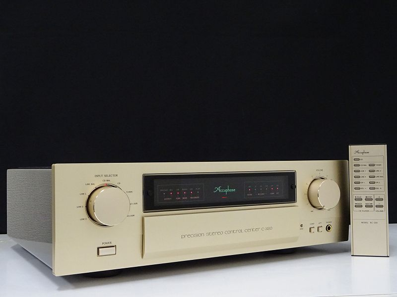 Accuphase アキュフェーズ C-2410 プリアンプ 福井県あわら市にて買取させていただきました!!