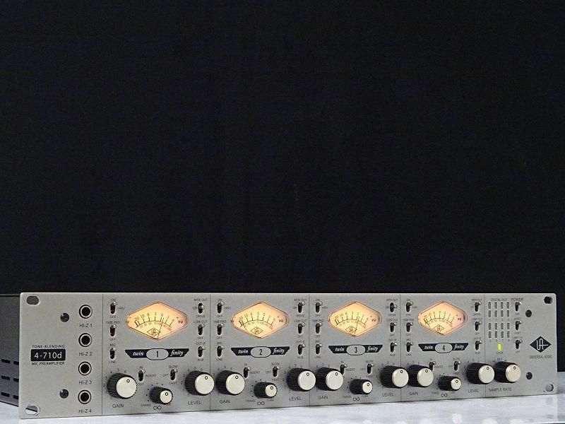 UNIVERSAL AUDIO ユニバーサルオーディオ 4-710D マイクプリアンプ 栃木県鹿沼市にて買取させていただきました!!
