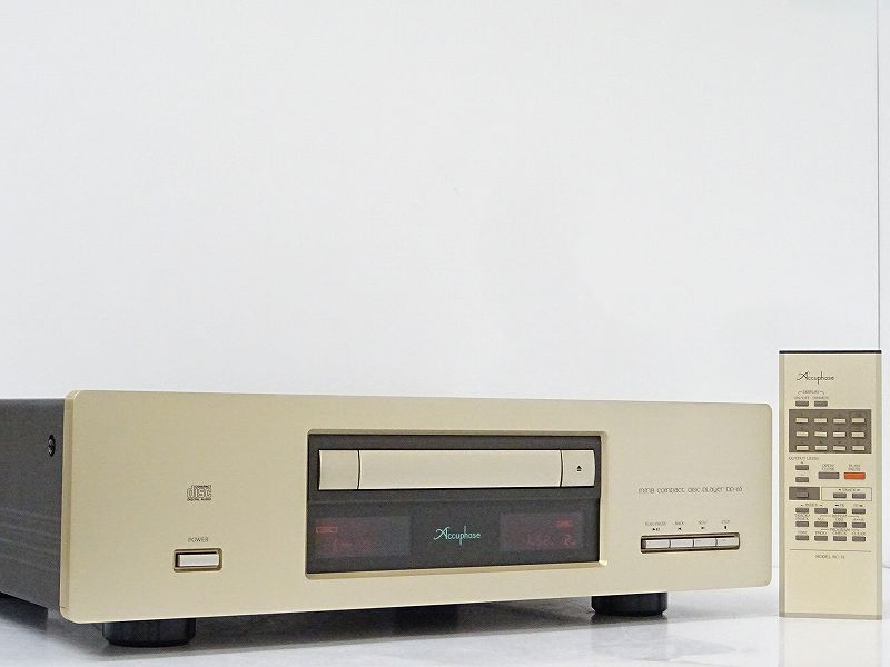 Accuphase アキュフェーズ DP-65 CDプレーヤー 千葉県南房総市にて買取させていただきました!!