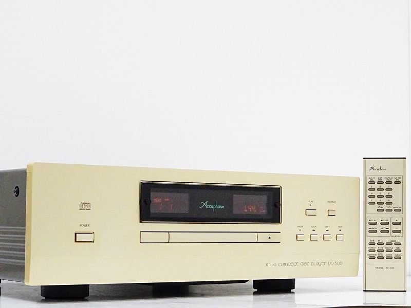 Accuphase アキュフェーズ DP-500 CDプレーヤー 買取させていただきました!!