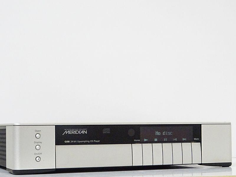 MERIDIAN メリディアン G08 CDプレーヤー 宮城県栗原市にて買取させていただきました!!