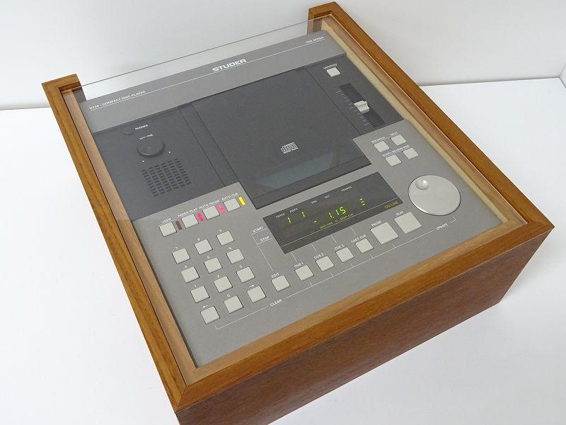 STUDER スチューダー D730 CDM-4プロ搭載 CDプレーヤー  サイドパネル付 福岡県太宰府市にて買取させていただきました!!