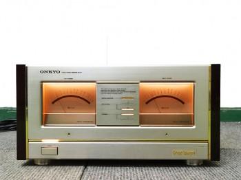 ONKYO Grand Integra M-510 パワーアンプ 買取依頼いただきました