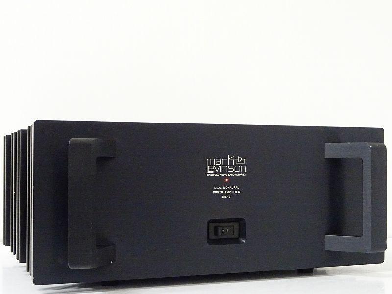 markLevinson マークレビンソン No.27 パワーアンプ 200V仕様 栃木県日光市にて買取させていただきました!!