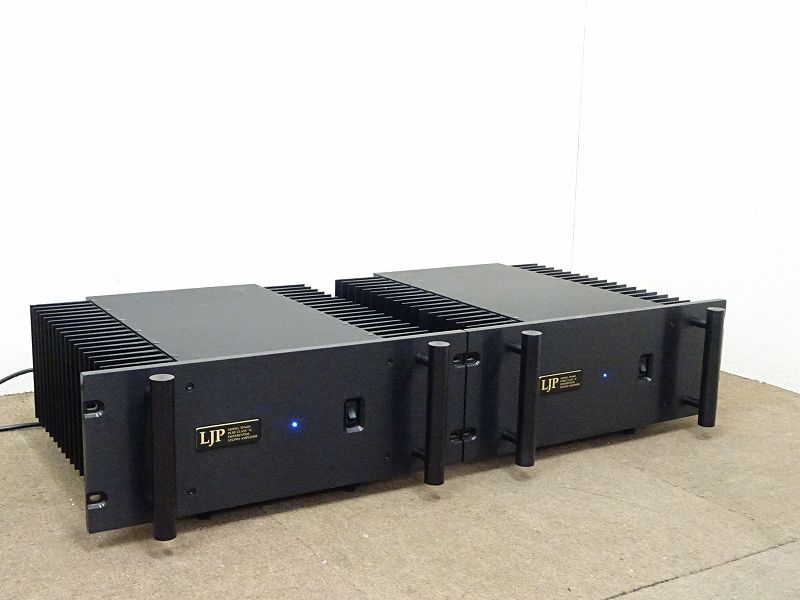 LJP TPA-400 モノラルパワーアンプ ペア 宮崎県小林市にて買取させていただきました!!