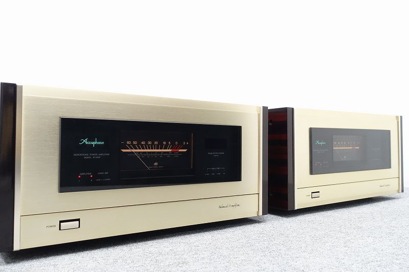 Accuphase M-1000 モノラルパワーアンプ☆埼玉県加須市にて買取させて頂きました