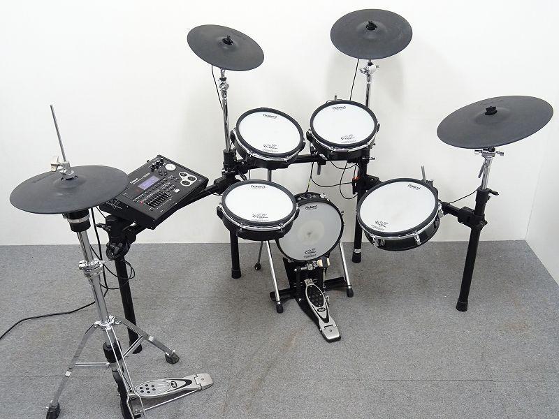 ROLAND TD-30 V-Drumsセット カスタム 電子ドラム Pearl H-1000 ハイハットスタンド付☆埼玉県さいたま市にて買取させて頂きました!