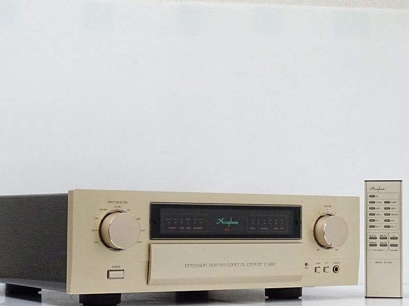 Accuphase C-2410 プリアンプ☆福岡県八女市にて買取させて頂きました!
