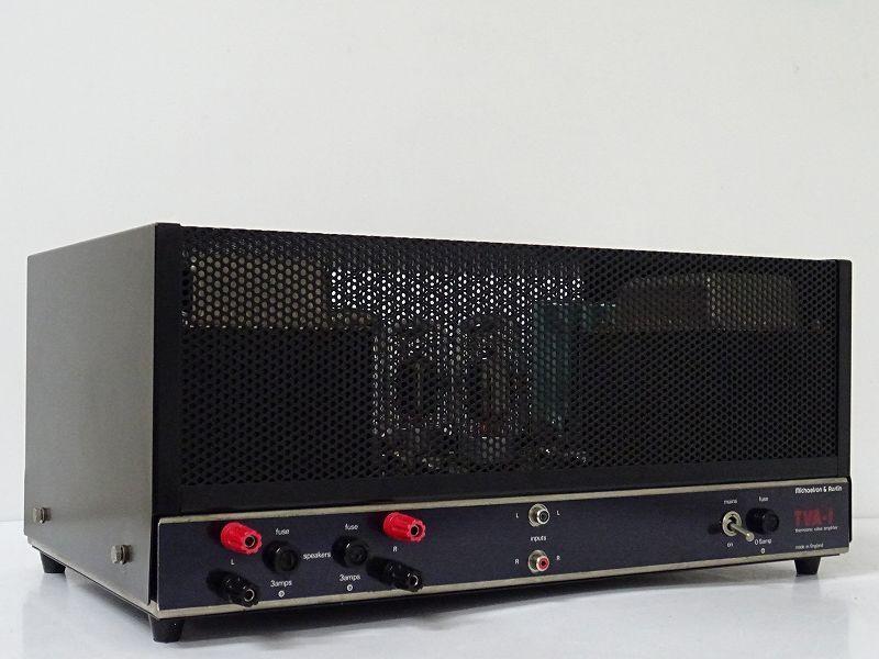 Michaelson & Austin TVA-1/GEC KT88搭載 真空管 パワーアンプ☆神奈川県藤沢市にて買取させて頂きました!
