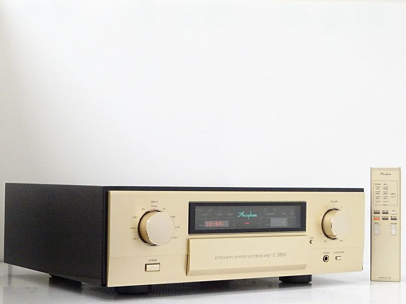 Accuphase C-2850 プリアンプ☆愛知県一宮市にて買取させて頂きました!