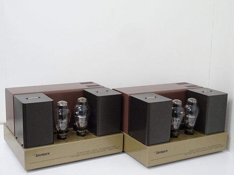 UESUGI U・BROS-21 Western Electric 300B搭載真空管モノラルパワーアンプ☆福岡県筑後市を買取させて頂きました!