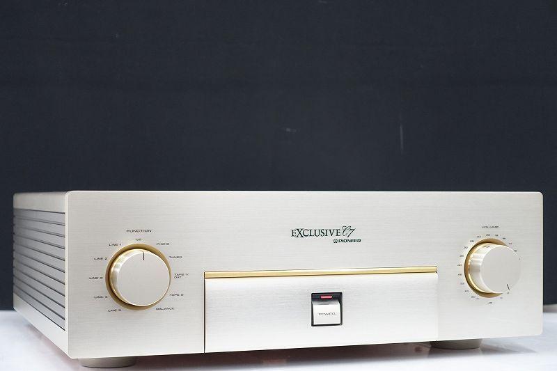 EXCLUSIVE/Pioneer C7 プリアンプ ☆奈良県奈良市にて買取させて頂きました
