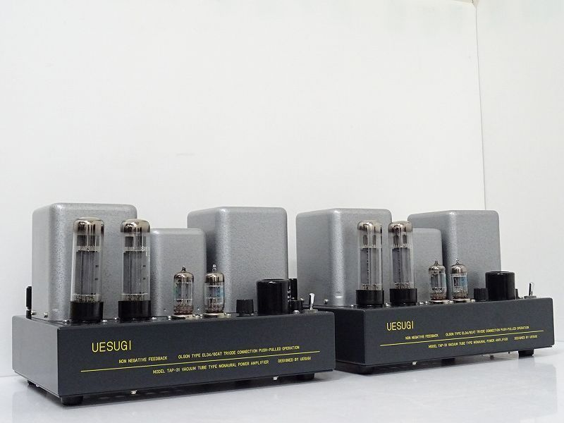 UESUGI TAP-31 真空管 モノラルパワーアンプ☆和歌山県田辺市にて買取させて頂きました!
