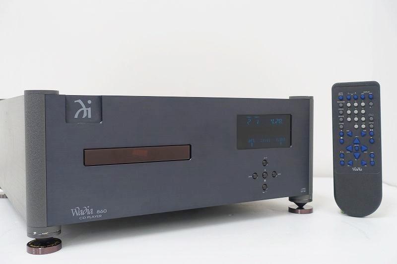 WADIA Wadia 860/audio-technica AT6294 CDプレーヤー☆広島県廿日市市にて買取させて頂きました!
