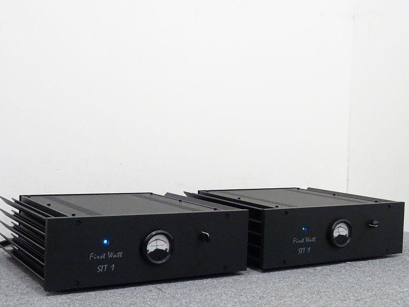 福岡県福岡市にてFirst Watt SIT-1 モノラルパワーアンプを買取させて頂きました!