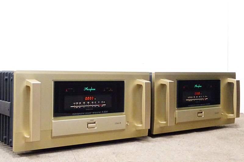 Accuphase アキュフェーズ A-200 モノラルパワーアンプ 千葉県市原市にて買取させていただきました!!