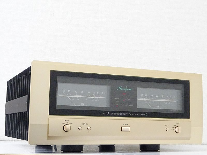 Accuphase アキュフェーズ A-46 パワーアンプ 千葉県成田市にて買取させていただきました!!