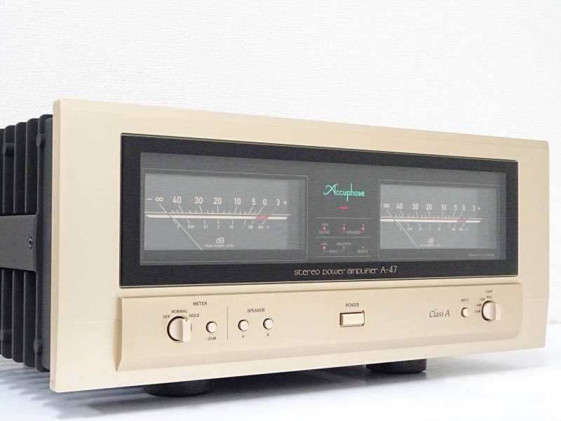 Accuphase アキュフェーズ A-47 パワーアンプ 東京都小平市にて買取させていただきました!!