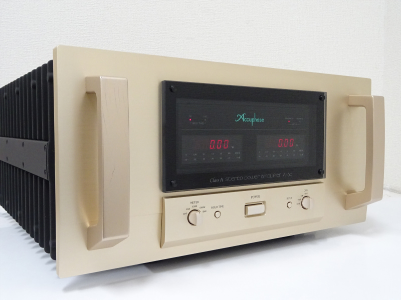 Accuphase アキュフェーズ A-60 パワーアンプ 千葉県市川市にて買取させていただきました!!