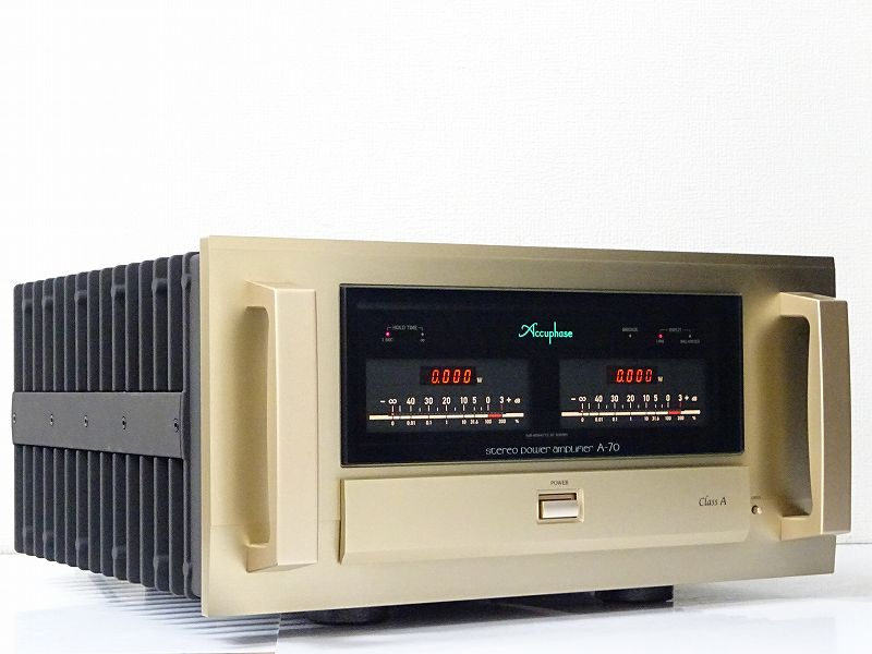 Accuphase アキュフェーズ A-70 純A級ステレオパワーアンプ 千葉県東金市にて買取させていただきました!!