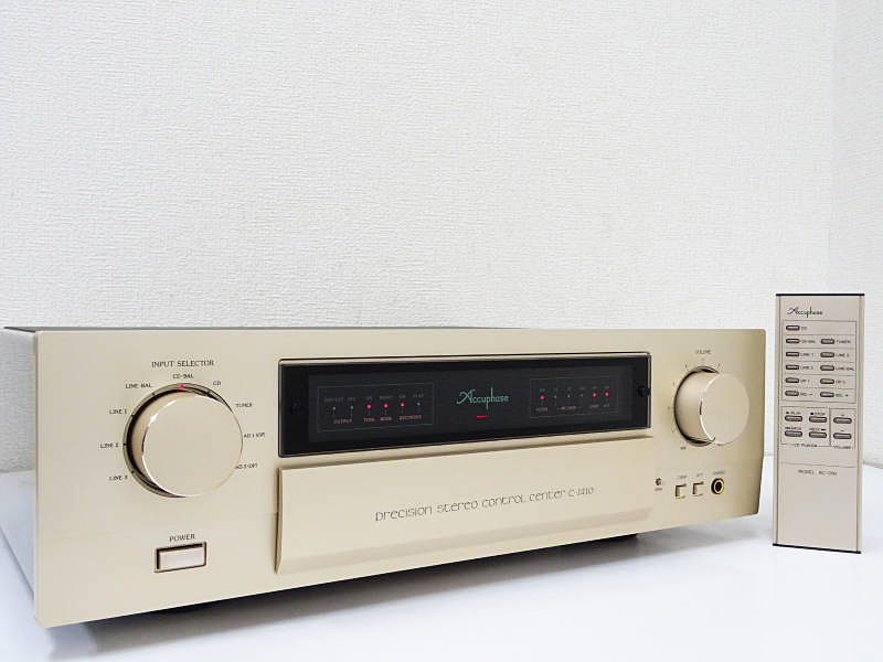 Accuphase アキュフェーズ C-2410 プリアンプ 鹿児島県鹿屋市にて買取させていただきました!!