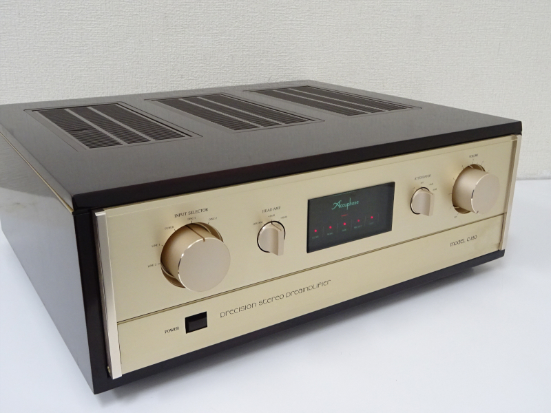 Accuphase アキュフェーズ C-280 プリアンプ 群馬県渋川市にて買取させていただきました!!