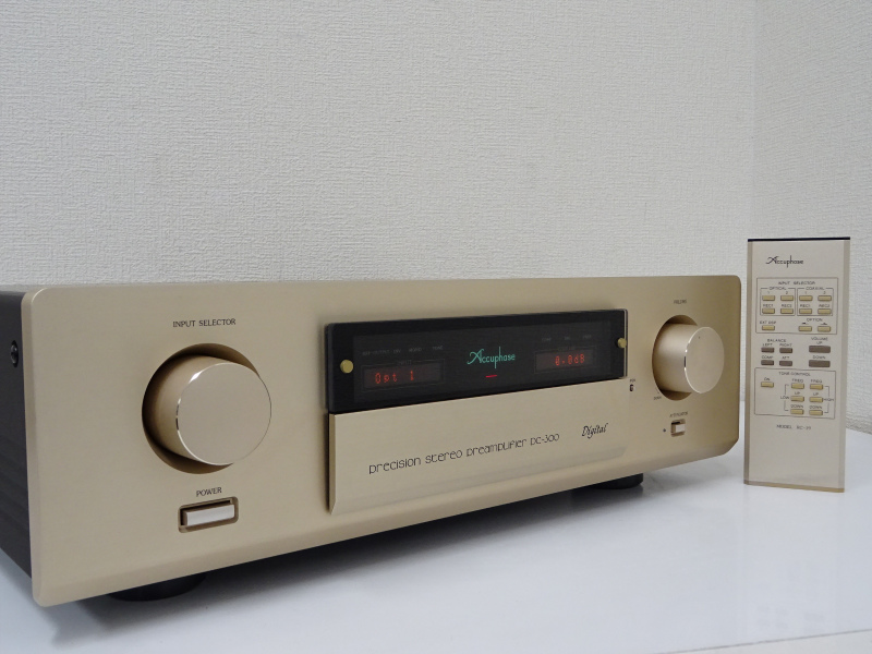 Accuphase アキュフェーズ DC-300 プリアンプ 千葉県成田市にて買取させていただきました!!