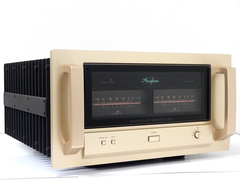 Accuphase アキュフェーズ P-7100 パワーアンプ 東京都八王子市にて買取させていただきました!!