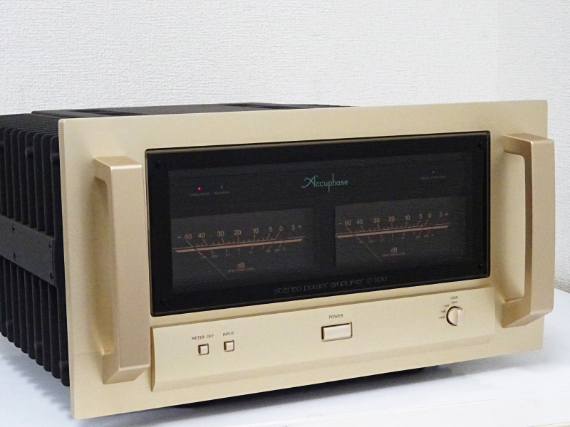 Accuphase アキュフェーズ P-7100 パワーアンプ 滋賀県東近江市にて買取させていただきました!!