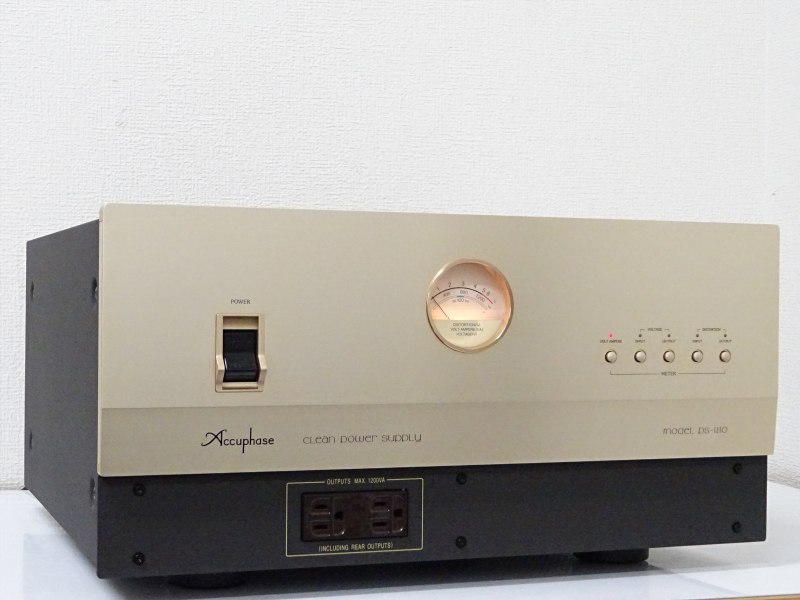 Accuphase アキュフェーズ PS-1210 クリーン電源 大阪府交野市にて買取させていただきました!!
