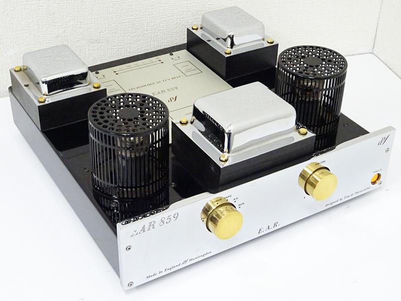 EAR イーエーアール 859 真空管プリメインアンプ 東京都青梅市にて買取させていただきました!!