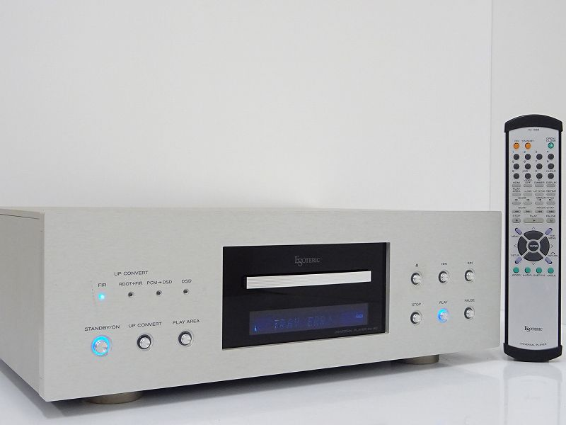 ESOTERIC エソテリック DV-60 ユニバーサルプレーヤー 栃木県宇都宮市にて買取させていただきました!!