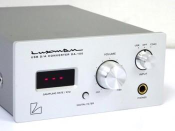 LUXMAN ラックスマン DA-100 USB D/Aコンバーター 大阪にて買取させていただきました!!