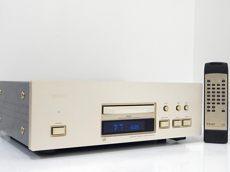 TEAC ティアック VRDS-50 CDプレーヤー 福島県喜多方市にて買取させていただきました!!