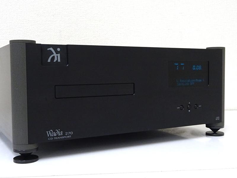 Wadia ワディア 270 VRDS Ver.UP済 CDトランスポート徳島県阿波市にて買取させていただきました!!