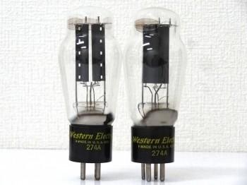 Western Electric ウエスタンエレクトリック 274A 真空管 新潟県にて買取させていただきました!!