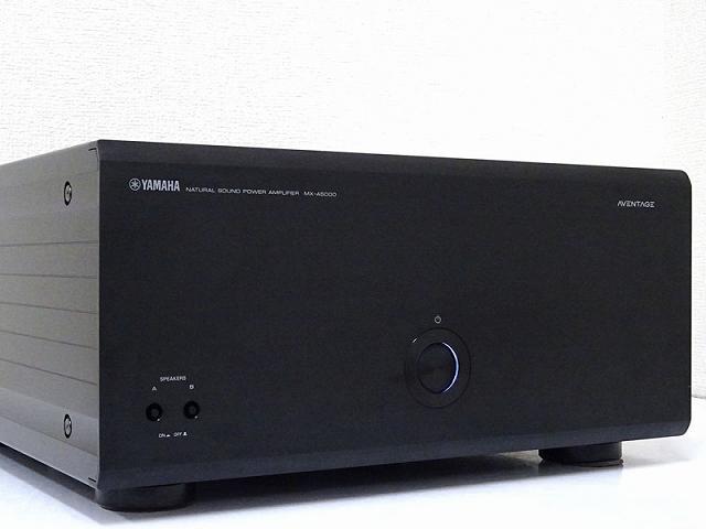 YAMAHA ヤマハ AVENTAGE MX-A5000 パワーアンプ 岡山県井原市にて買取させていただきました!!