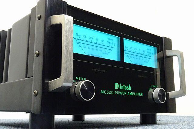 McIntosh MC500 パワーアンプ沖縄県沖縄市にて買取させていただきました!