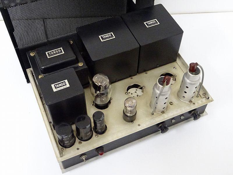 TANGOトランス FW-50-3.5S/MS-250CT/MC-10-200D搭載 自作真空管パワーアンプ福岡県福岡市にて買取させていただきました。