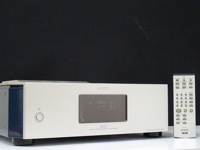 SONY SCD-1 SACDプレーヤー大分県大分市にて買取させていただきました!