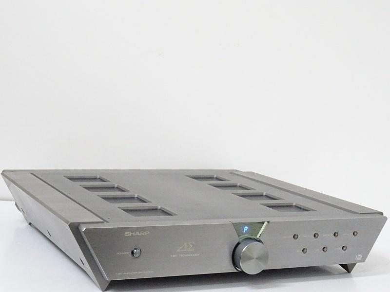 SHARP SM-SX300 1Bit デジタルプリメインアンプ 福岡県福岡市にて