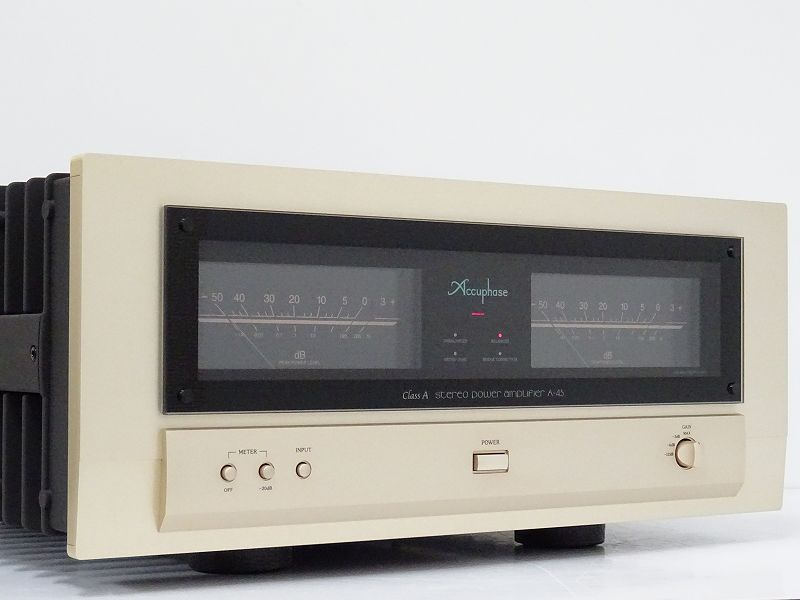 Accuphase A-45 パワーアンプ 和歌山県有田市にて買取させていただきました!