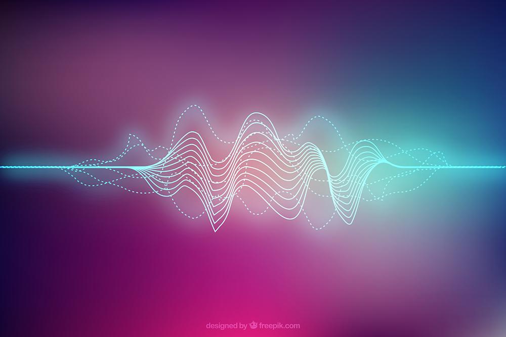 音の波形イメージ