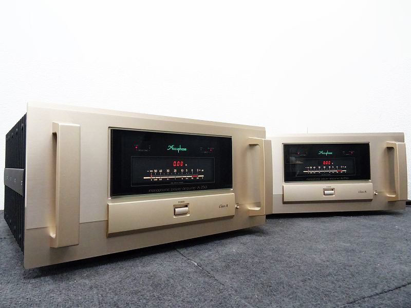 Accuphase A-250 モノラルパワーアンプ ペア愛知県名古屋市にて買取させていただきました!